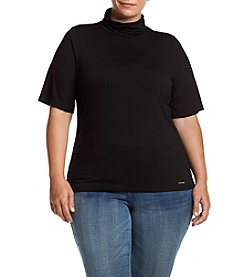 MICHAEL Michael Kors Plus Size Mock Turtleneck Top