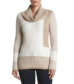 Calvin Klein Patch Cable Knit Sweater