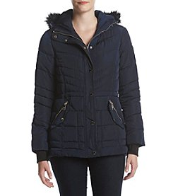 GUESS Anorak Hooded Down Coat