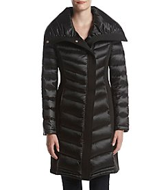 Tahari Neoprene Sided Coat