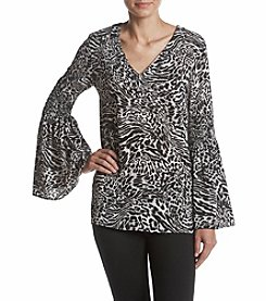 MICHAEL Michael Kors® Big Cat Bell Sleeve Tunic