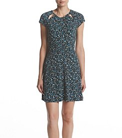 MICHAEL Michael Kors® Leaf Pattern Dress