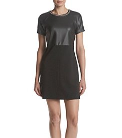MICHAEL Michael Kors® Faux Leather Dress