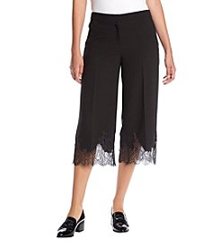 MICHAEL Michael Kors® Lace Trim Gaucho Pants