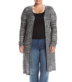 Love Always Plus Size Open Duster Cardigan