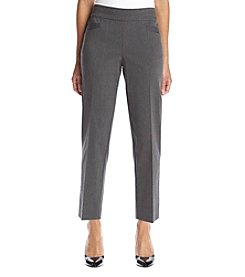 Briggs New York® Petites' Front Pocket Pull On Pants