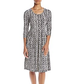 Studio Works® Petites' Abstract Print Dress