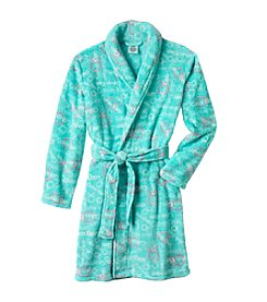 Calvin Klein Girls' 5-16 Logo Robe