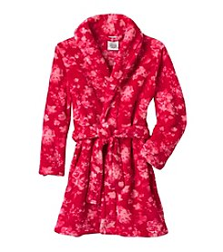 Calvin Klein Girls' 5-16 Floral Robe