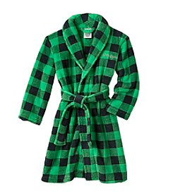 Calvin Klein Boys' 5-16  Plaid Robe