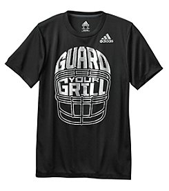 adidas® Boys' 8-20 Short Sleeve Clima Guard Your Grill Tee