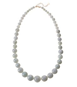 Effy® 14K Yellow Gold Jade Beaded Necklace