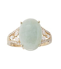 Effy® Gold and Jade Ring