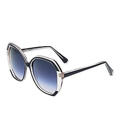 Oscar de la Renta Angular Square Sunglasses