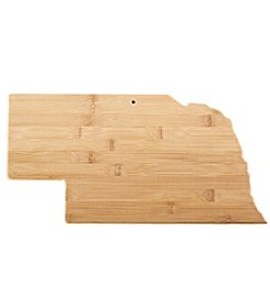 Totally Bamboo® Nebraska State Cutting Board