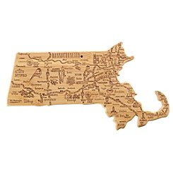 Totally Bamboo® Massachusetts Destination Cutting Board