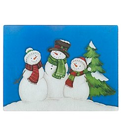 Chef's Quarters Casual Snow Family Cutting Board