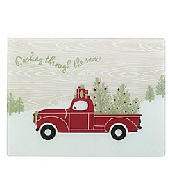 Chef's Quarters® Holiday Truck Cutting Board