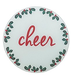 Chef's Quarters Cheer Round Cutting Board