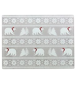 Chef's Quarters Polar Bear Art Cutting Board