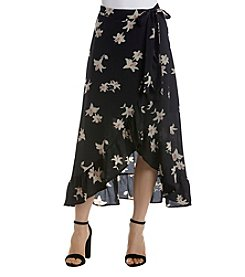 June & Hudson® Floral Wrap Maxi Skirt