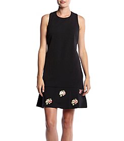 Madison Leigh® Embroidered Fit And Flare Dress