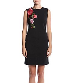 Madison Leigh® Embroidered Shift Dress