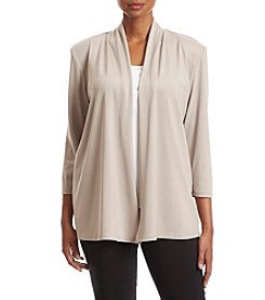 Kasper® Plus Size Knit Cardigan