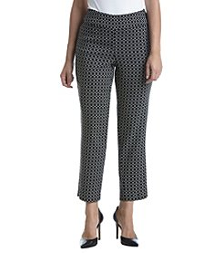 Alfred Dunner® Petites Saratoga Springs Printed Pants