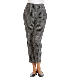 Alfred Dunner® Plus Size Saratoga Springs Printed Pants