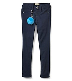 Squeeze Girls 7-14 Sateen Skinny Poof Jeans