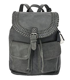 Ruff Hewn Faux Suede Backpack