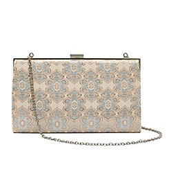 La Regale® Sparkle Jacquard Clutch