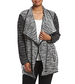 Chelsea & Theodore® Plus Size Open Front Cardigan