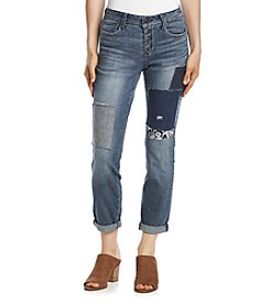 Black Daisy Jamie Best Friend Patches Jeans