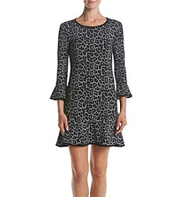 MICHAEL Michael Kors® Plaid Flounce Dress