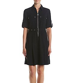 MICHAEL Michael Kors® Lock Zip Shirt Dress