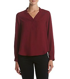 Nine West® V-neck Shirt