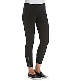 Calvin Klein Performance Cuffed Zipper Leggings