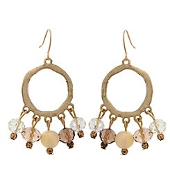 Erica Lyons® She's A Natural Shaky Drop Pierced Earrings