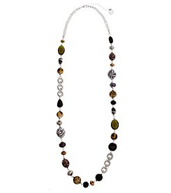 Erica Lyons® Wild Thing Long Strand Necklace