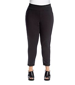Relativity® Plus Size Ankle Jeggings