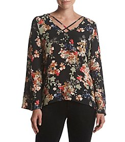 Cupio Floral Printed Blouse