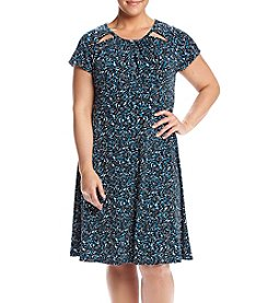 MICHAEL Michael Kors® Plus Size Printed Dress