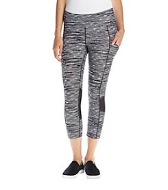 Calvin Klein Performance Obscure Print Cropped Leggings