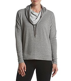 Calvin Klein Performance Funnel Neck Drop Shoulder Top