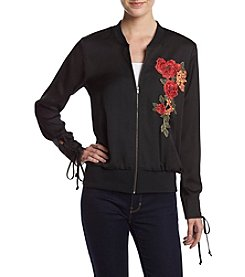 Love & Combat™ Embroidered Bomber Jacket