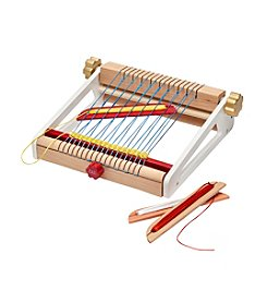FAO Schwarz 8 Piece Kids' Craft Weaving Loom