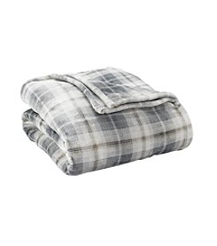 Living Quarters Tonal Plaid Luxe Blanket