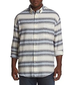 John Bartlett Consensus Men's Big & Tall Button Down Flannel Shirt